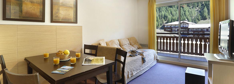 Résidence Les Chalets du Verdon - Val d'Allos - Vacancéole - Appartement 2 pièces 6 personnes