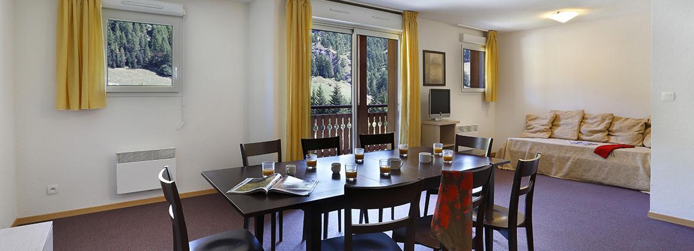 Résidence Les Chalets du Verdon - Val d'Allos - Vacancéole - Appartement 4 pièces 8 personnes